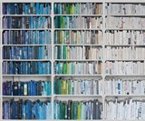 Library Wallpaper - Blue to White