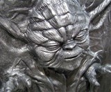 Life-Size Yoda in Carbonite
