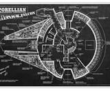 Millennium Falcon Blueprint