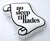 No Sleep Till Hades Pillow