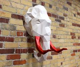 Paper Animal Head Trophy Kits