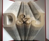 Personalized Book Sculptures