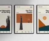 Sandgrain Studio Minimalist Movie & TV Posters