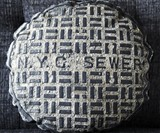 Sewer Manhole Cover Pillow
