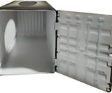 Shipping Container Tissue Box Holder