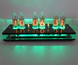 Six Digit Nixie Tube Clock Green Light Display