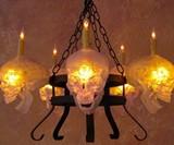 Skull Chandelier