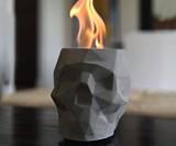 Skull Tabletop Fireplace