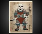 Star Wars Samurai Prints