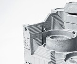The Factory Concrete Rolling Ball Kinetic Sculpture