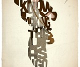 Typographic Iconic Movie Prints - Indiana Jones
