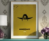 Walking Dead Minimalist Prints - Rick Grimes Full Length