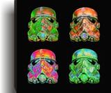 Warhol-Style Star Wars Stormtrooper Prints