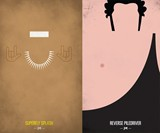 WWF Legends Minimalist Posters - Superfly Jimmy Snuka & Andre the Giant