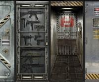Metal Core Door Decals