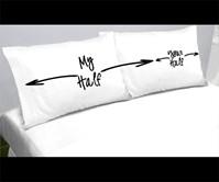 My Half/Your Half Pillowcases