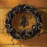 Animated Snake Wreath