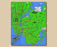 Super Mario New York City Subway Map