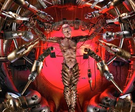 Mechanical Christ - Technological Crucifixion
