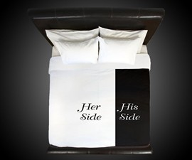 Her Side / His Side Duvet