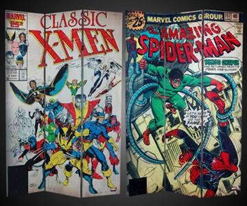 6-Foot Spider-Man/X-Men Room Divider