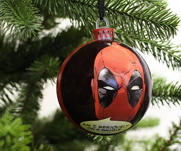 Deadpool Christmas Baubles