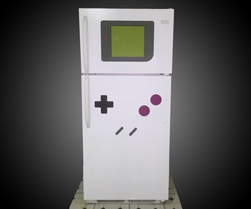 FreezerBoy - Game Boy Refrigerator Magnets