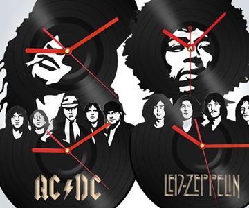 Gods of Rock Vinyl Wall Clocks