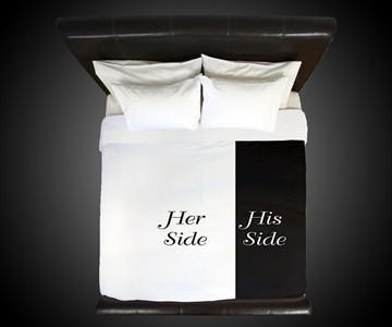 Her Side / His Side Duvet