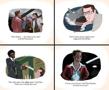 Iconic Movie Scene Prints