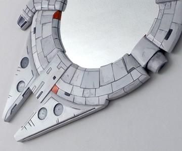 Millennium Falcon Mirror