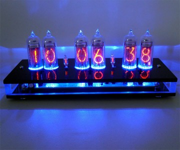 Six Digit Nixie Tube Clock