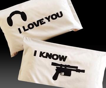 Star Wars Love Pillowcases