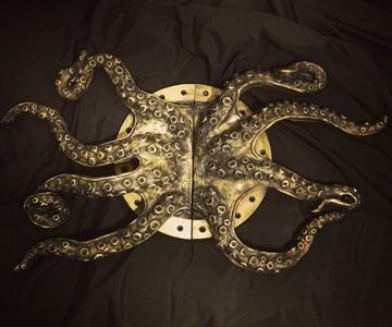 Steampunk Octopus Door Handles