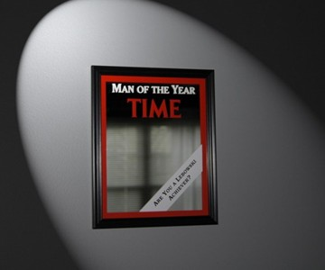Time: Man Of The Year Bar Mirror