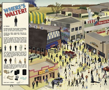 Where's Walter? Breaking Bad Print