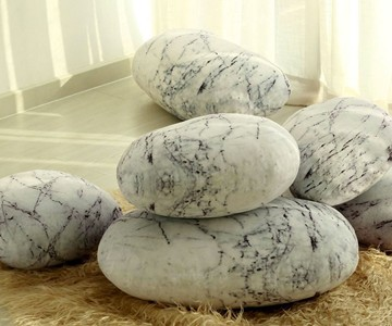 Zen Stone Floor Pillows