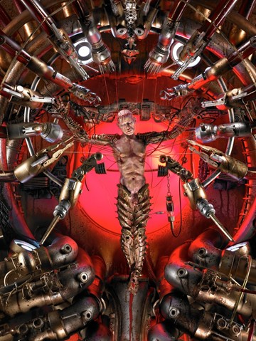 Mechanical Christ - Technological Crucifixion-5134