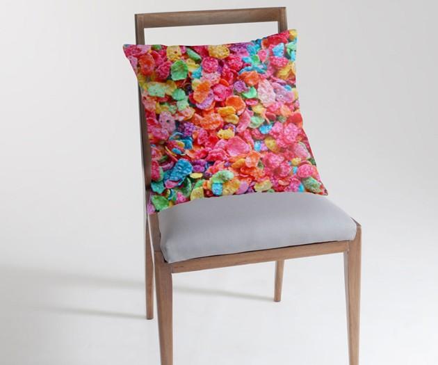 Fruity Pebbles Pillow