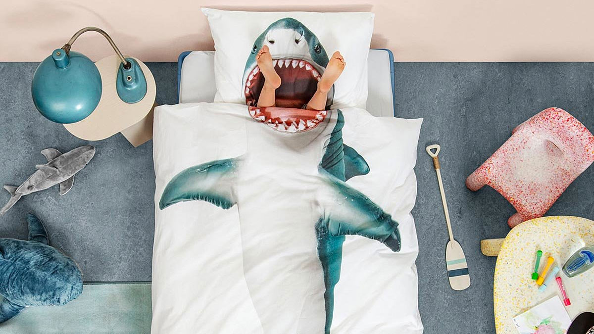 Shark Duvet & Pillowcase Set