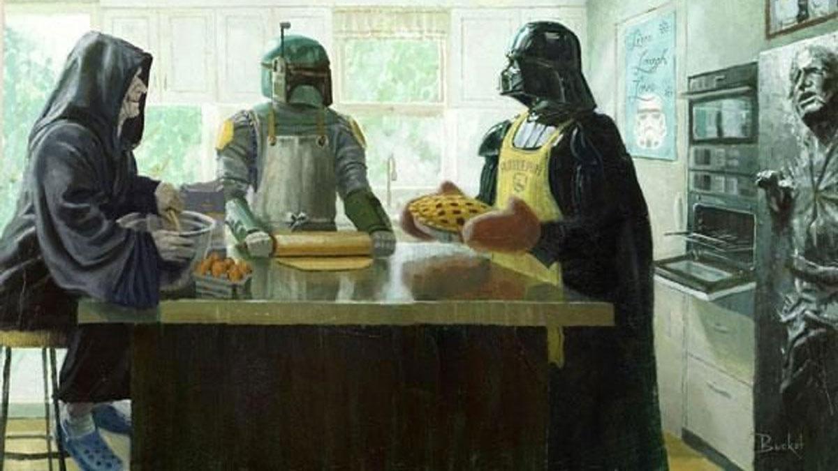 Star Wars Parody Art Prints