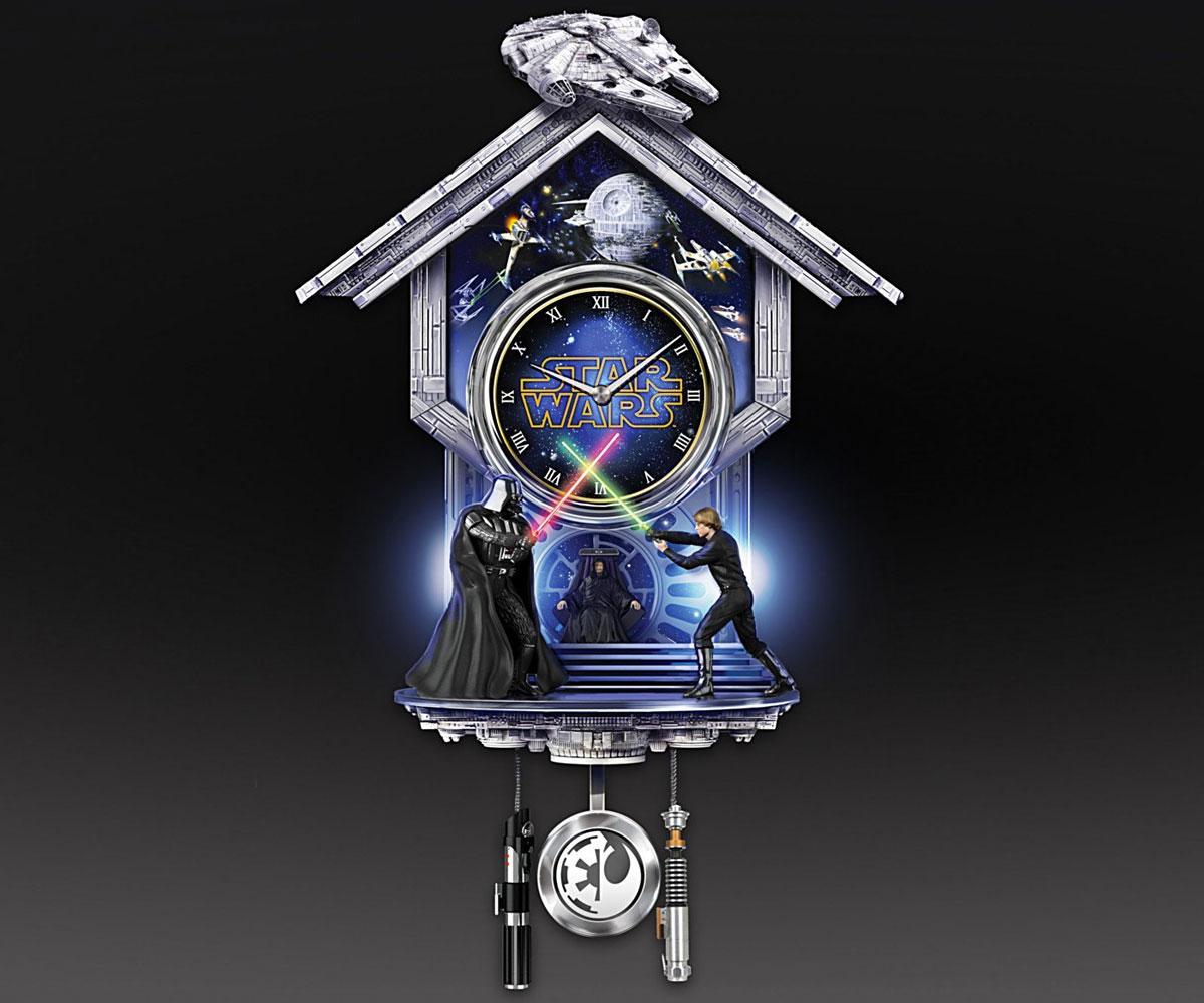 Star Wars Return Of The Jedi Wall Clock Dudeiwantthat Com