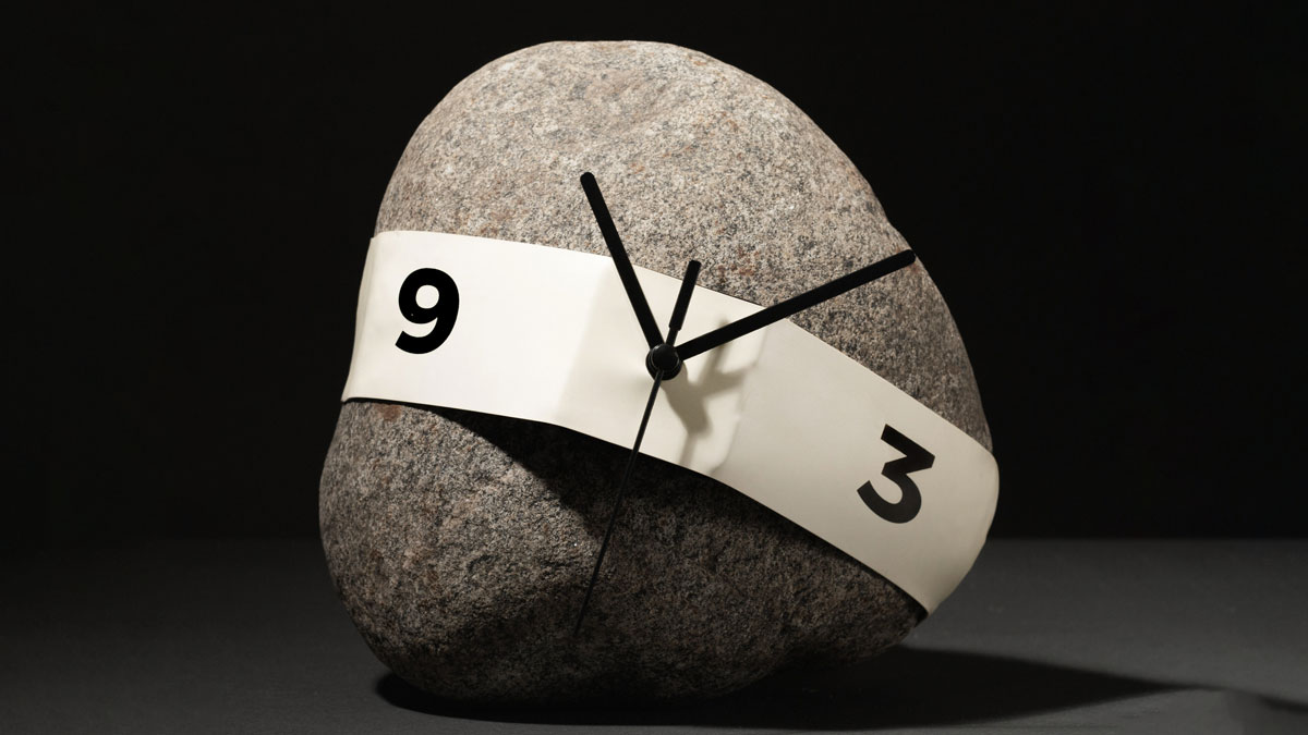 Stretch Clock - Make a Clock Out of Any Object