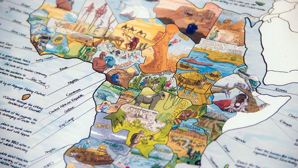 The Bucketlistmap