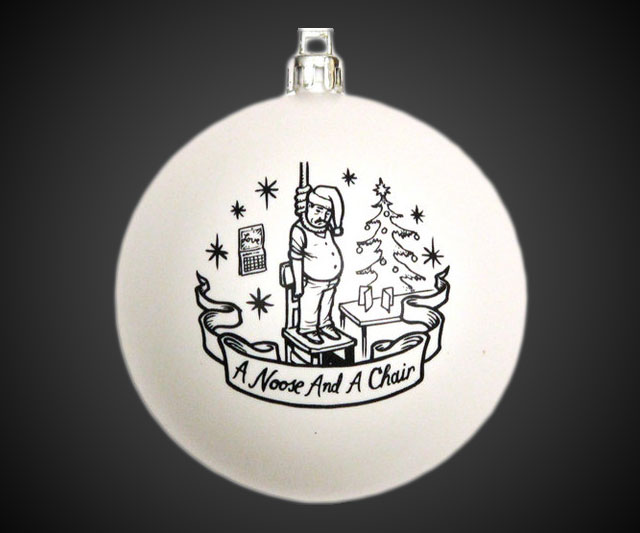 'Tis the Season for Suicide Ornaments