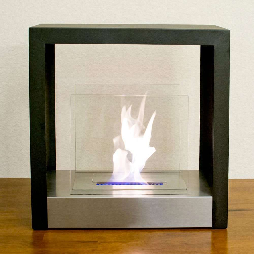 Ventless Freestanding Bio Ethanol Fireplace