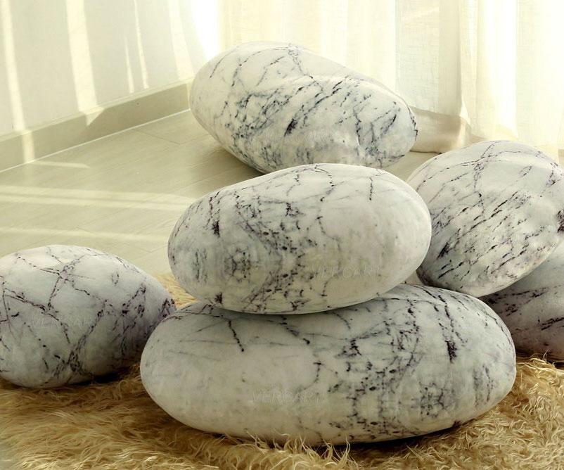 Zen Stone Floor Pillows DudeIWantThat.com