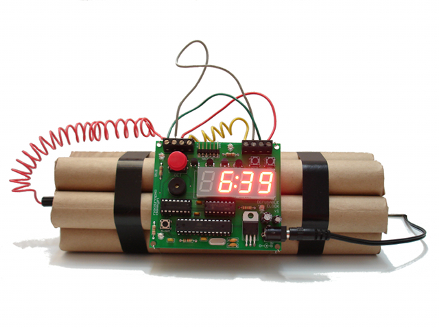 Defusable Alarm Clock