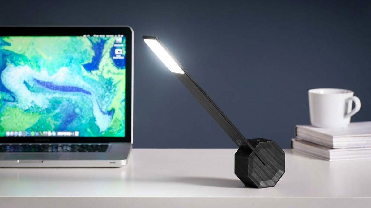 Gingko Octagon One LED Desk Lamp
