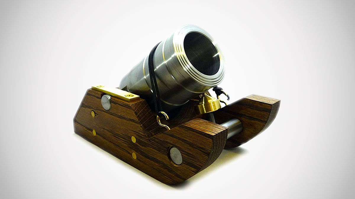 Handmade Golf Ball Cannon